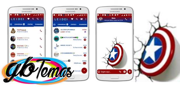 GBWhatsapp Captain America 4
