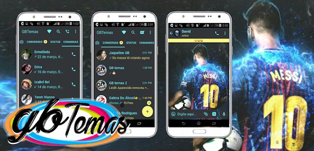 Tema GBWhatsapp - Messi 10