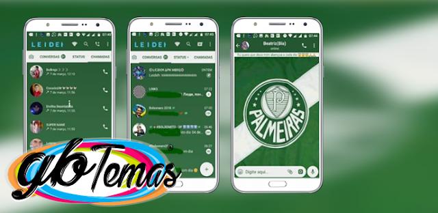 Tema GBWhatsapp – Palmeiras