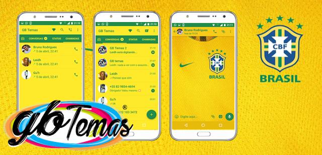 Tema GBWhatsapp – Seleção Brasileira