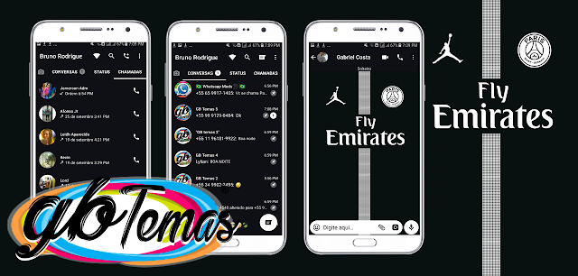 Tema GBWhatsapp - Paris Saint Germain