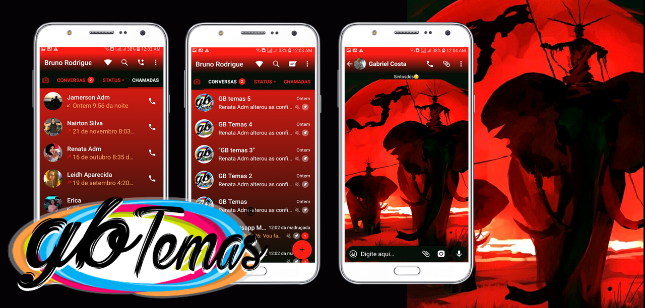 Tema GBWhatsapp - Blood Moon