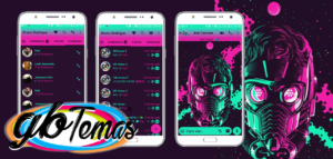 Tema GBWhatsapp - Guardians Of The Galaxy