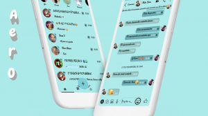 Tema Whatsapp Aero - Simple Delicate
